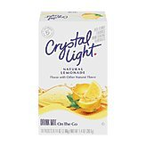 Crystal Light On The Go Natural Lemonade, 10 Count Boxes (Pack of 10)