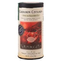 The Republic of Tea, Cardamon Cinnamon Tea, 36-Count