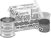 Buy marine tex might repair kit 2 ounce, gray