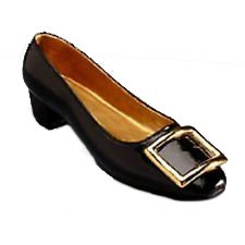 Just The Right Shoe - Patently Perfect Retired - Shoe Figurine Occasions Gift 25046-JTRS