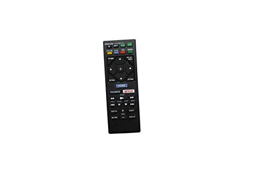 HCDZ Replacement Remote Control for Sony RMT-VB201U 149312311 BDP-S6700 BDP-S1700ES BDP-S1700 BDP-S3700 Streaming Blu-ray Disc DVD Player
