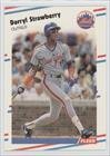 Darryl Strawberry (Baseball Card) 1988 Fleer - [Base] - Glossy #151