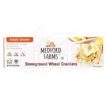 Jane Crackers,Stone Wht,Sesm 8.8 Oz (Pack Of 12)