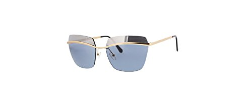 Catherine Malandrino Women's Trendy Rimless Geometric Square Metal - Sunglasses Malandrino Catherine