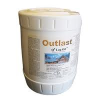 Outlast Q8 Log Oil 5 Gallon Pail Natural Base