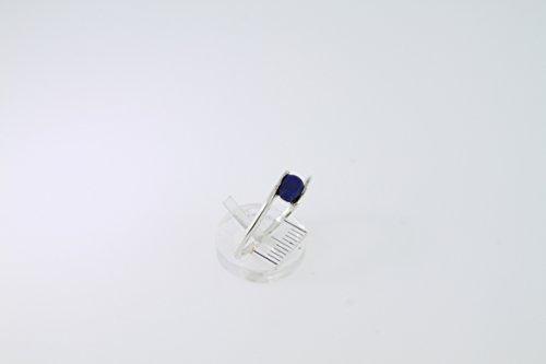 Bague en Lapis-lazuli 18-05 - Bijoux en argent rhodié et Lapis-lazuli - Toutes tailles et diverses pierres - ARTIPOL