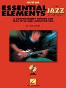 (Essential Elements for Jazz Ensemble - Guitar - BK+CD)