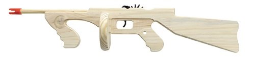 (Parris Manufacturing Rubber Band Shooter Tommy Gun)