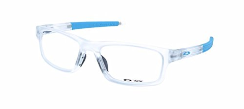 Oakley Crosslink Pitch OX8037 Eyeglasses-11 Frost/Sky - Women Prescription Glasses Oakley For