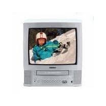 "Toshiba MV13N3 Television 13"" TV/VCR Combo Silver"