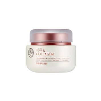 [THEFACESHOP] Pomegranate and Collagen Volume Lifting Cream, Provides an Anti Aging, Moisturizing, and Softening Effect to Skin - 100 ml from THEFACESHOP