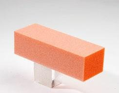 Dixon Buffer Block Orange White Grit 3 Way 100/180 500pcs by Dixon