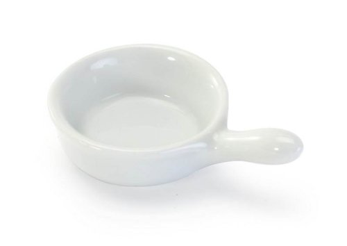 White Porcelain Individual 2.5 inch Butter Server ...
