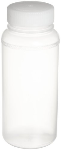 (Bel-Art Precisionware Wide-Mouth 500ml (16oz) Autoclavable Polypropylene Bottles; Polypropylene Cap, 53mm Closure (Pack of 12) (F10632-0007))