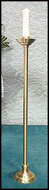 PASCHAL CANDLE HOLDER 41'' by Living Grace