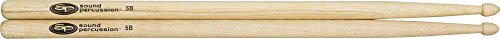 (Sound Percussion Hickory Drumsticks - Pair Wood 5B)