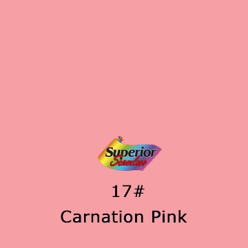 Superior Seamless Photography Background Paper, Photo Backdrop Paper 53'' wide x 16' #17 Carnation Pink (101317C) by Superior