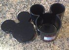 """Disney Mickey Mouse Classic """"Team Mickey"""" Shaped Resin Jar with Lid from Jay Franco"""