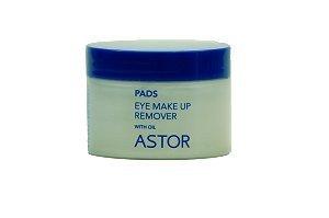 Astor Eye Make-up Remover Pads mit Öl, 50er
