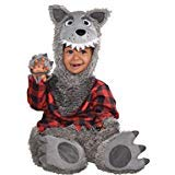 Amscan 848192 Baby Wolf Costume - 6-12 Months, Black]()