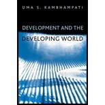 img - for Development & Developing World (04) by Kambhampati, Uma S [Paperback (2004)] book / textbook / text book