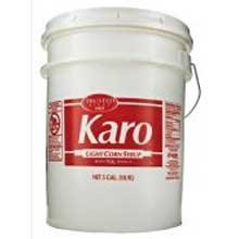 Karo Light Corn Syrup, 5 Gallon -- 1 each. (Syrup Bulk Corn)