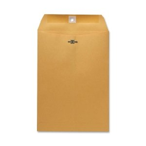 Sparco Clasp Envelope, 28 lbs, 7-1/2 x 10-1/2 Inches, 100 per Box, Kraft (SPR08875)