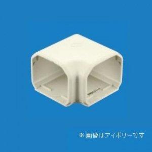 パナソニック 《スッキリダクト》 フラットエルボ(室内用) 80型 ホワイト DAS31807S