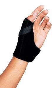 SS4915575 - Leader Thumb Spica Support, Black, Small/Medium