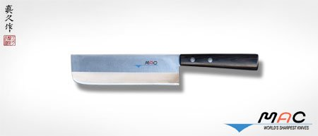Mac Knife Japanese Series Vegetable Cleaver, 6-1/2-Inch