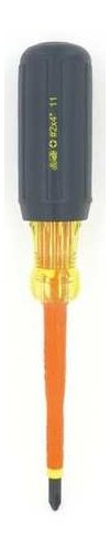 Ideal 35-9690 Insulated Screwdriver, 1/4'' x 4''