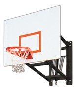最初チームwallmonster Playgroundスチール調節可能な壁マウントバスケットボールsystem44 ;スカーレット B01HC0CP9Y