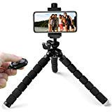 Flexible Phone Tripod - KobraTech TriFlex Pro iPhone Tripod with Bluetooth Remote Shutter