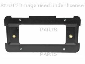 BMW (2007 on) License Plate mounting bracket Base REAR e70 e71 e83 e88 90 e92