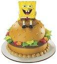 Spongebob Squarepants Krabby Patty Petite Decoset ~ Cake Topper -