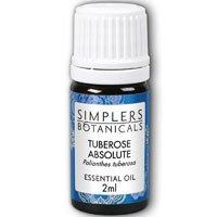 Essential Oil Tuberose Absolute Simplers Botanicals 2 ml Oil