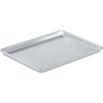 Vollrath 5303 Sheet Pan, 1/2 size, Aluminum, 18-Inch x 13-Inch x 1-Inch