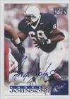 Andre Johnson (Football Card) 1996 Pro Line - Autographs - Blue #ANJO