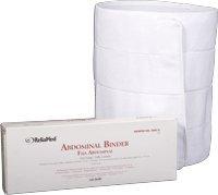 ReliaMed 4-Panel Abdominal Binder, Adjustable Closure, 12 Inch Wide 30-45 Inch Waist - (Reliamed Abdominal Binder)