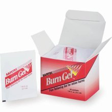 Safetec Burn Gel Packets 25/box