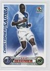 - Christopher Samba (Trading Card) 2008-09 Topps Match Attax English Premier League - [Base] #CHSA