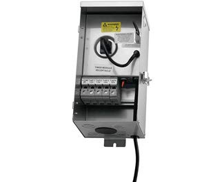 Kichler 15CS150SS Landscape Transformer, Stainless Steel