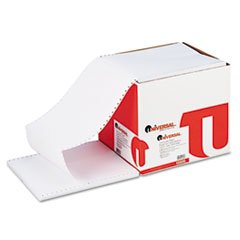 Universal 15806 Computer Paper, 15lb, 9-1/2 x 11, Letter Trim Perforations, White, 3300 Sheets ()
