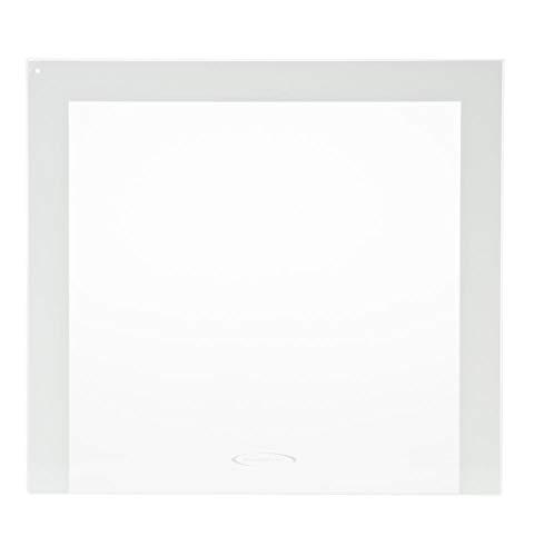 Ge WR32X10594 Refrigerator Crisper Drawer Cover Glass Insert Genuine Original Equipment Manufacturer (OEM) Part