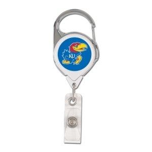 Kansas Jayhawks Retractable Premium Badge Holder