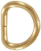 Steel Split D Ring