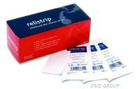 Reliance Medical Rel651 Skin Closure Strips 3Mm X 75Mm 5 Strips/Envelope Box 50 Sterile Flexible Reinforced Wound Closure Strips.