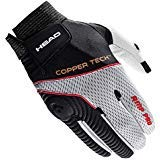 Head Amp Pro CT Racquetball Glove (Right Hand- LARGE, Head Amp Pro CT Racquetball Glove)