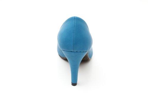 clair de Escarpins de la 45 bleu les classiques toutes et Andres cm AM422 pied Pointe Forme de arrondie pointures à 9 Pour Machado la 32 talon EBwxPxq4U