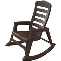 [Adams Mfg 8080-60-3700 Brn Stack Rocking Chair Resin, Patio Chairs] (8080 Chair)